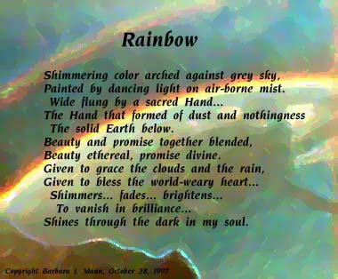 'Rainbow' by Barbara Mann