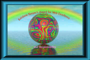 Rainbow Keeper's Award for Web Excellence
